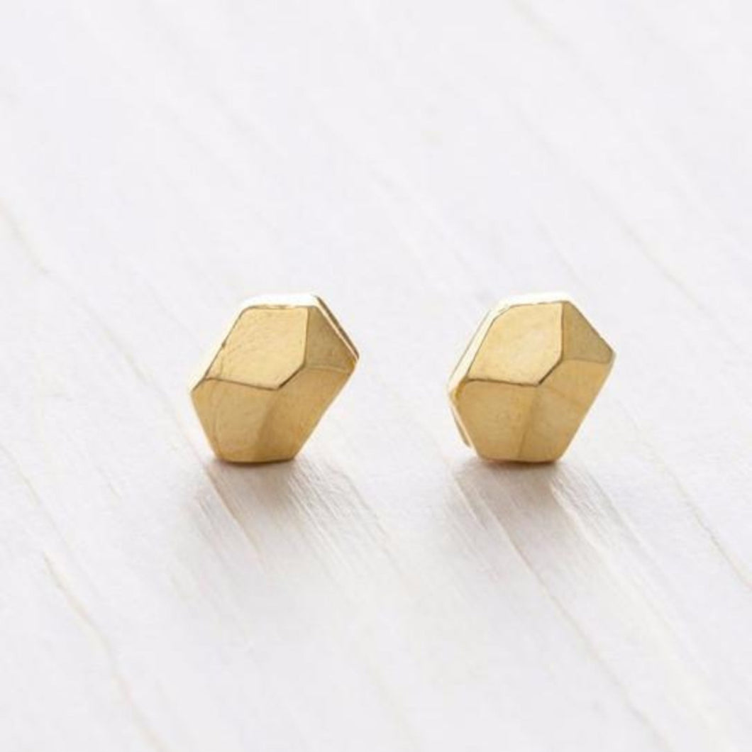 Faceted Nugget Stud by Amano Studio at local Fairmount shop Ali's Wagon in Philadelphia, Pennsylvania