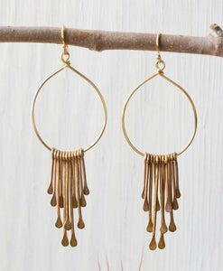Rain Goddess Earrings by Amano Studio at local Fairmount shop Ali's Wagon in Philadelphia, Pennsylvania