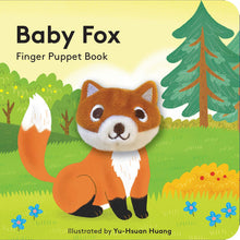 Load image into Gallery viewer, Baby Fox Finger Puppet Book