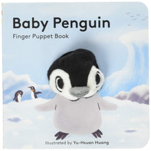 Load image into Gallery viewer, Baby Penguin Finger Puppet Book