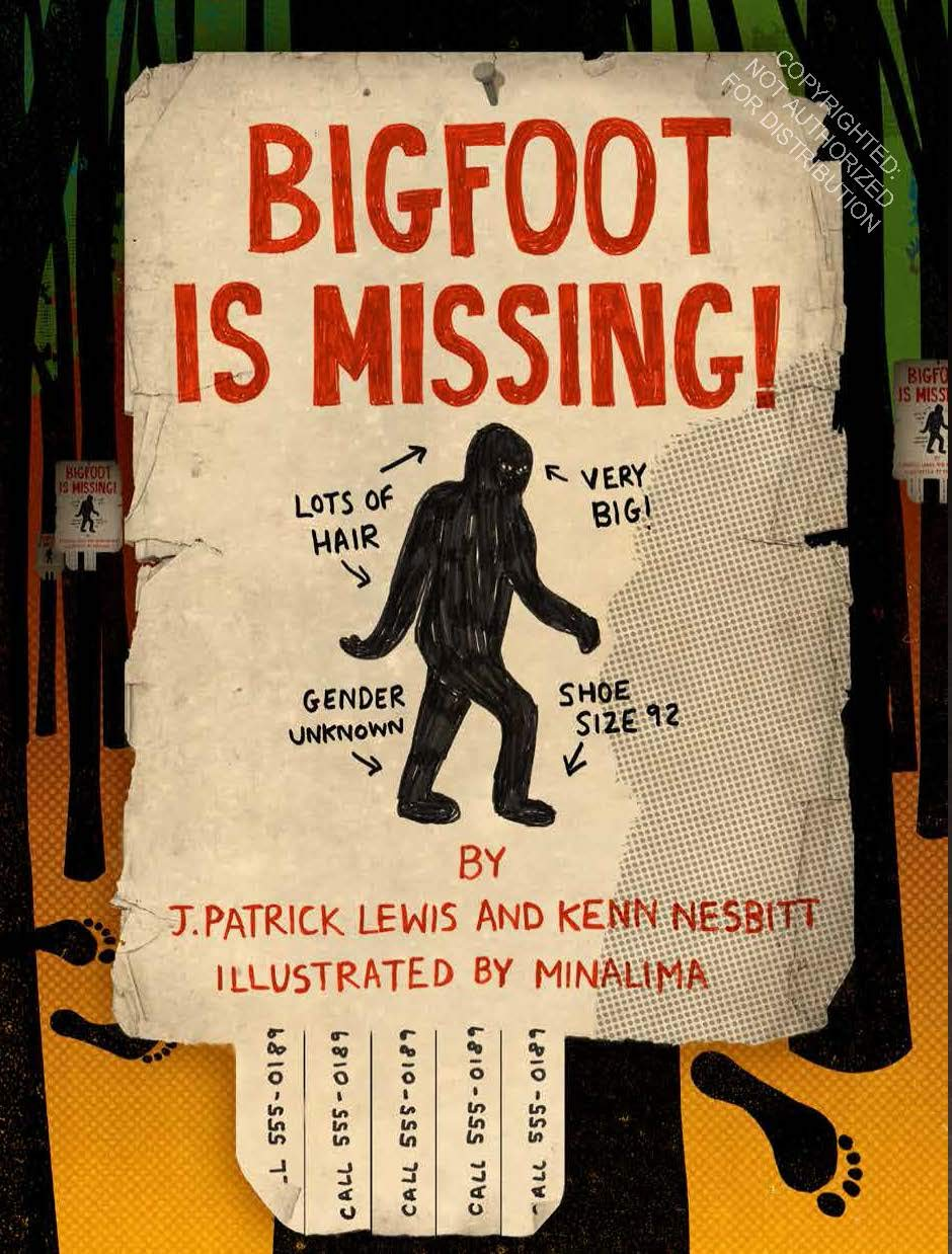 Bigfoot is Missing by Chronicle Books at local Fairmount shop Ali's Wagon in Philadelphia, Pennsylvania