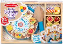 Load image into Gallery viewer, Birthday Cake Play Set