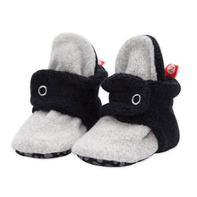 Load image into Gallery viewer, Black & Grey Color Block Gripper Bootie