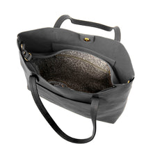 Load image into Gallery viewer, Black Megan Carry All Tote