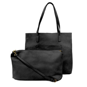 Black Megan Carry All Tote