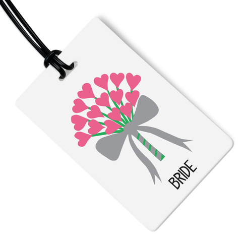 Bride Luggage Tag