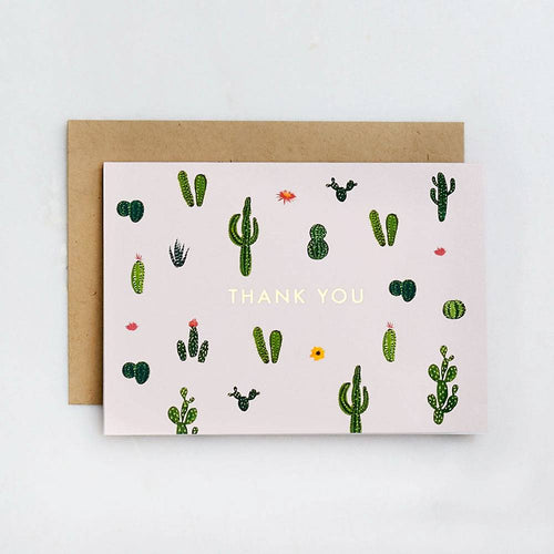 Cacti Thank You Boxed Cards