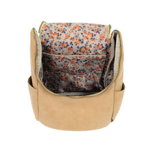 Load image into Gallery viewer, Camel Kerri Side Pocket Backpack