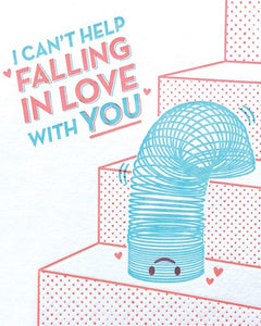 Can't Help Falling in Love Card