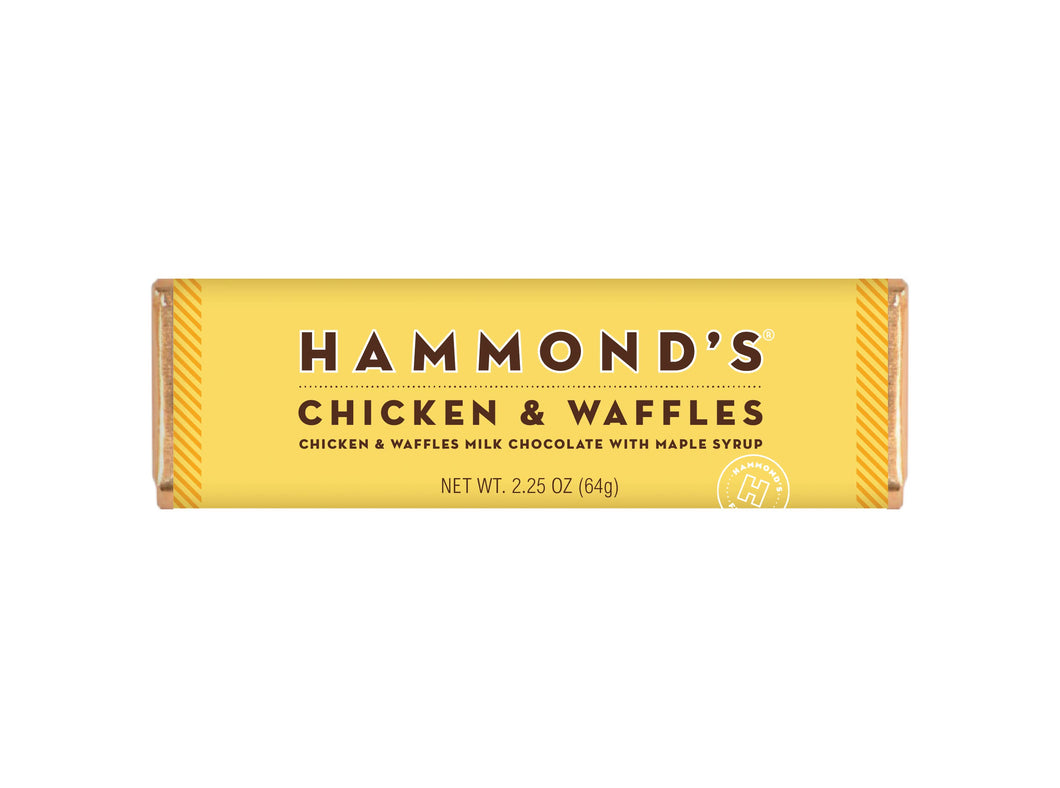 Chicken and Waffles Milk Chocolate Bar