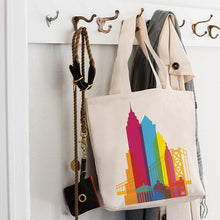 Load image into Gallery viewer, Philadelphia City Shapes Tote