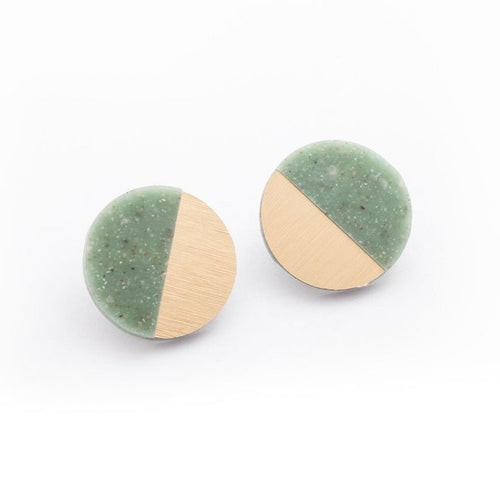 Sector Corian Stud Earrings