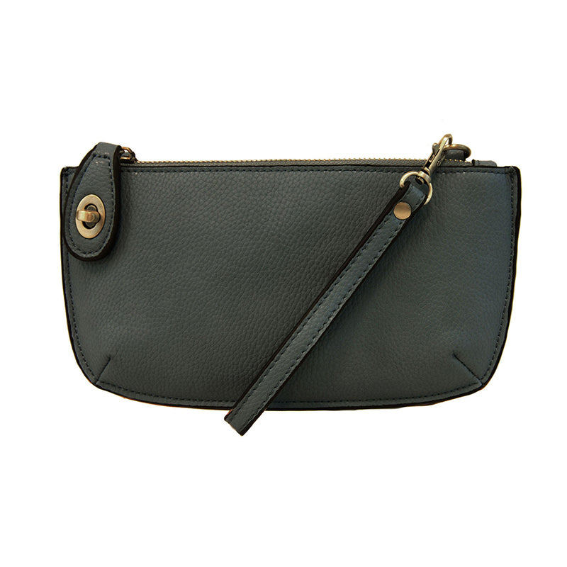 Dark Cyan Mini Crossbody & Wristlet