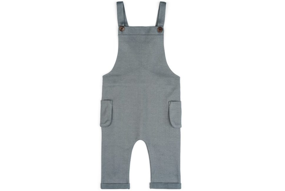 Denim Blue Baby Overalls