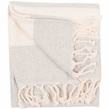 Load image into Gallery viewer, Mist Diamond Turkish Towel