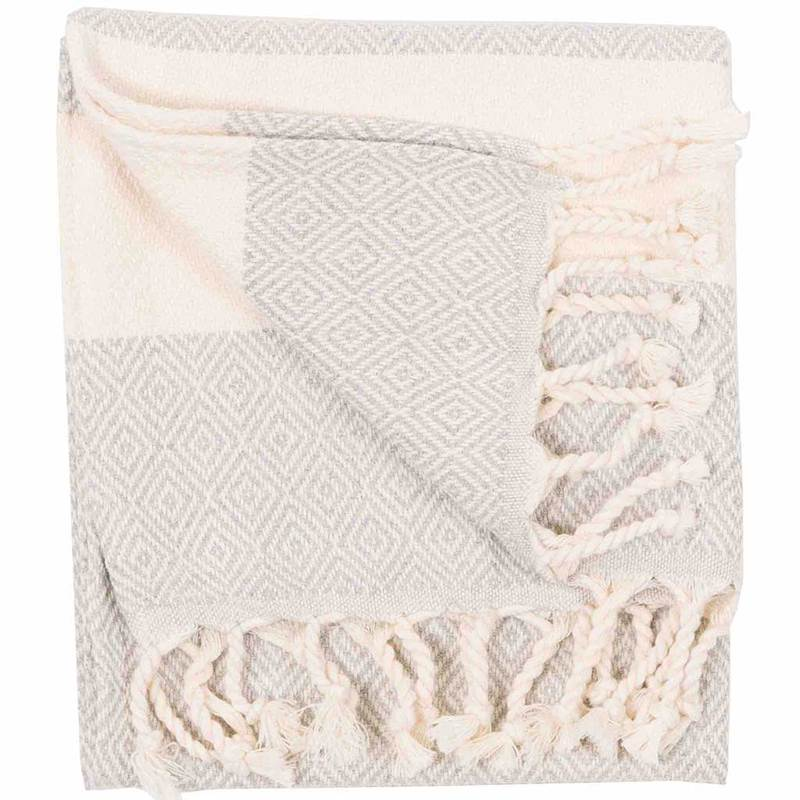 Mist Diamond Turkish Towel