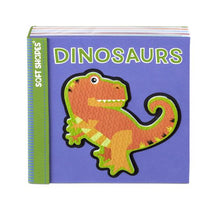 Load image into Gallery viewer, Dinosaurs Soft Shapes Bath Book