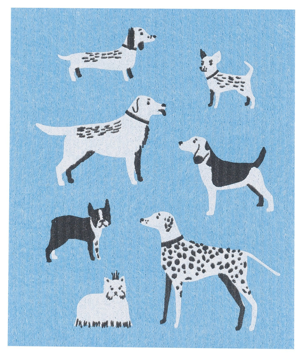 Dog Days Swedish Dish Cloth