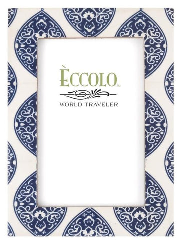 Naturals Frame, Mandorla Blue by Eccolo Ltd at local housewares store Division IV in Philadelphia, Pennsylvania