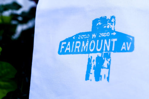 Fairmount Ave Tea Towel