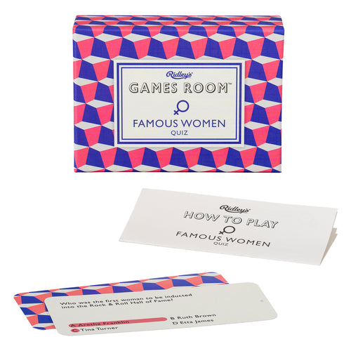 Famous Women Game Deck