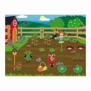 Farm Reusable Sticker Pad