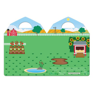 Farm Puffy Sticker Play Set
