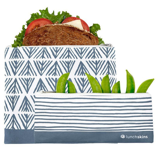 Zippered Sandwich & Snack Bag Sets