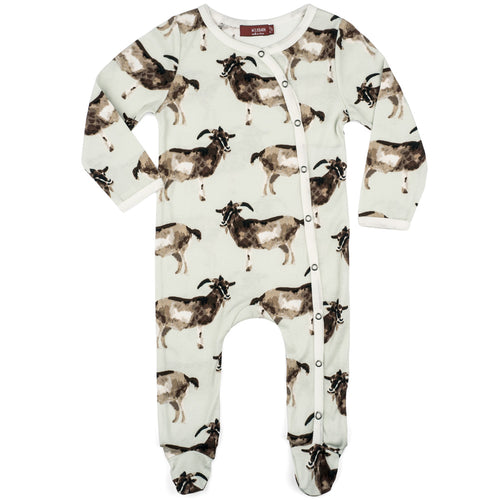 Goats Organic Footed Romper