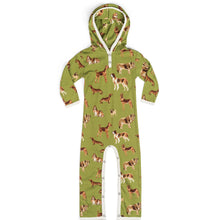 Load image into Gallery viewer, Green Dogs Organic Hooded Romper