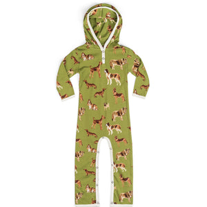 Green Dogs Organic Hooded Romper
