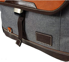 Load image into Gallery viewer, Grey Parkland Messenger Bag