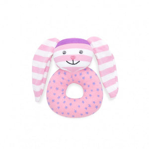 Hip Hop Bunny Teething Rattle