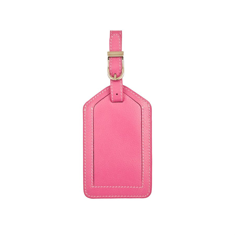 Hot Pink Luggage Tag