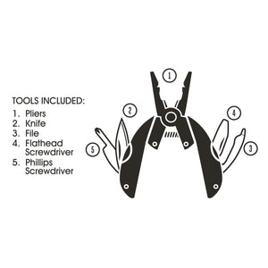 In a Fix Pocket Multi Tool Pliers