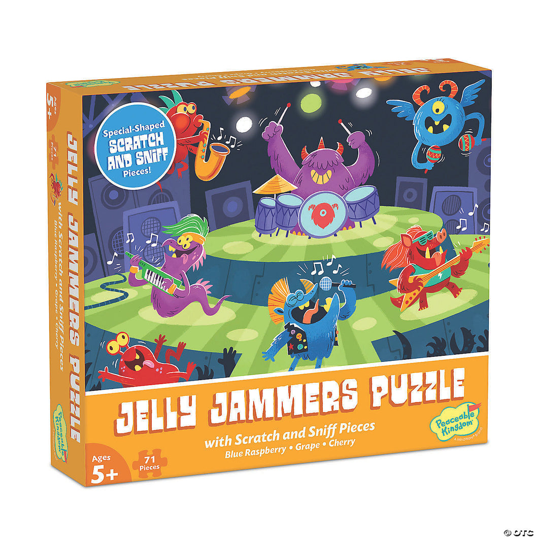 Jelly Jammers Scratch & Sniff Puzzle
