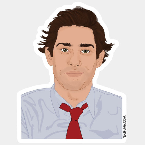 Jim Halpert Office Sticker