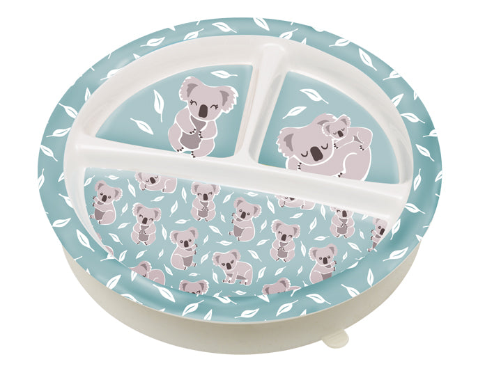 Kuddly Koala Divided Suction Plate