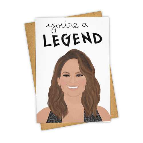 You're a Legend Card