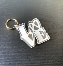 Load image into Gallery viewer, Love & Pretzels Keychain