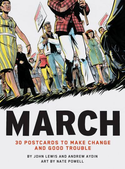 MARCH! Postcards