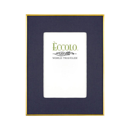 Midnight Linen Mat Frame