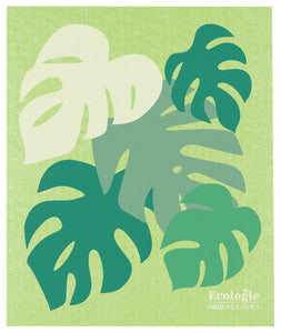 Monstera Swedish Dish Cloth
