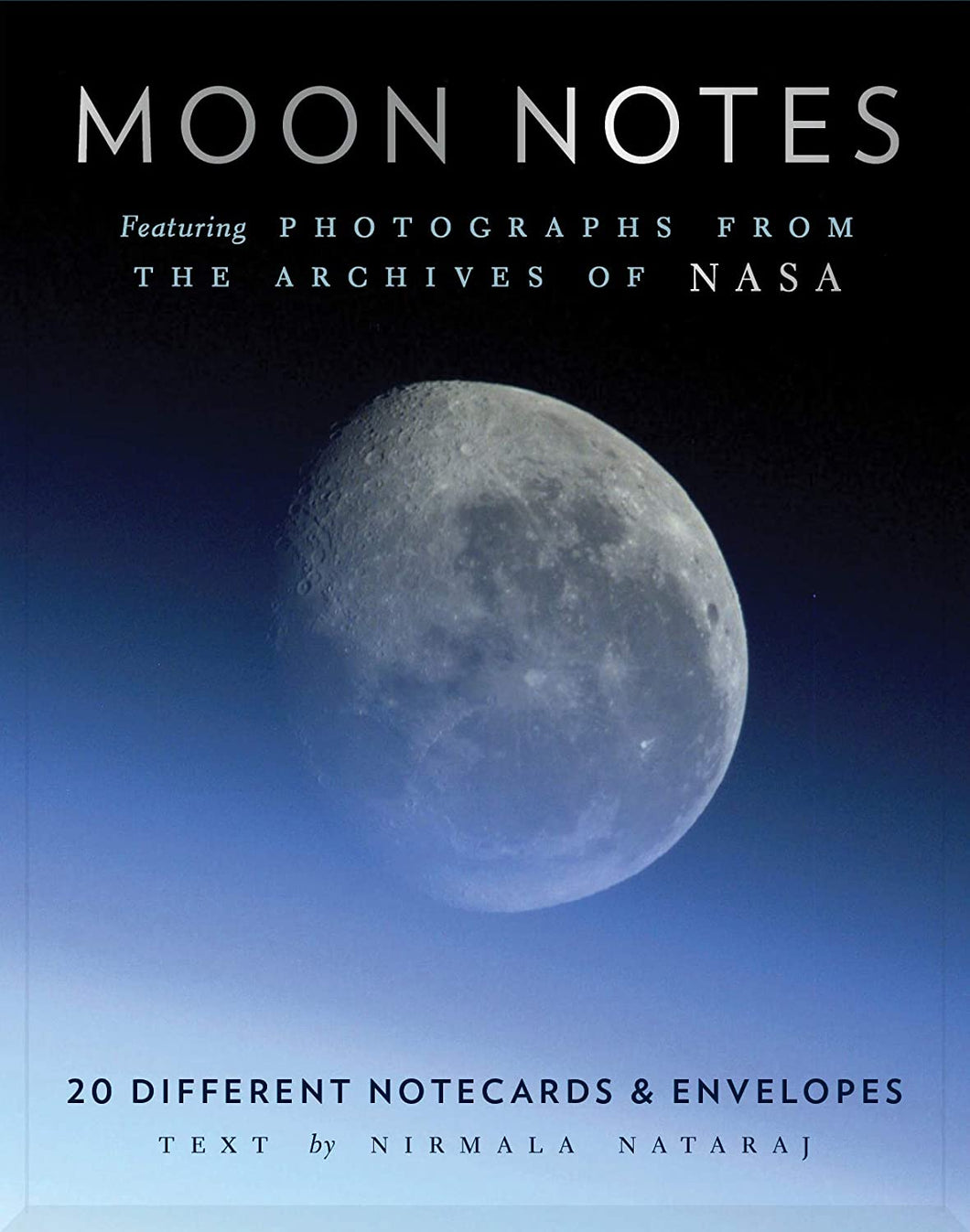 Moon Notes Notecards