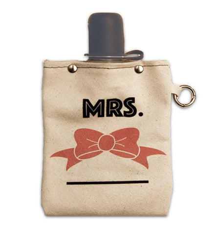 Mrs. Canvas Flask