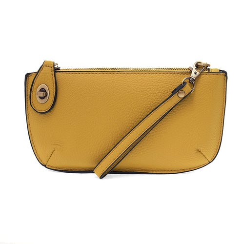 Mustard Mini Crossbody & Wristlet