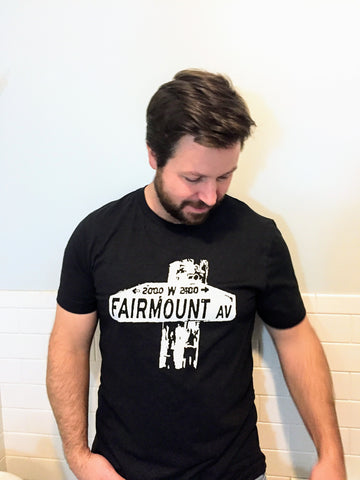 Black Fairmount Adult Tee
