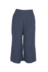 Navy Stripe Thai Cotton Gaucho