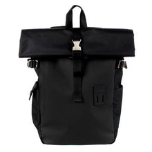 Load image into Gallery viewer, Black Neo Rolltop Backpack