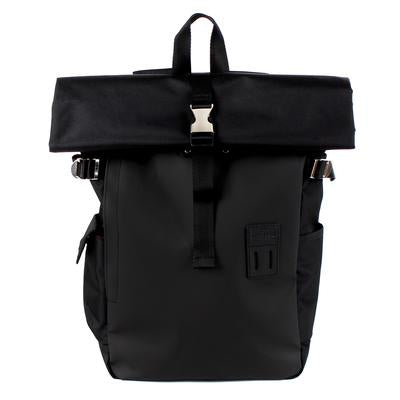 Black Neo Rolltop Backpack